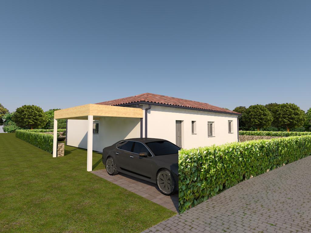 Maisons du constructeur ESQUISS BEAUZELLE • 110 m² • NAILLOUX