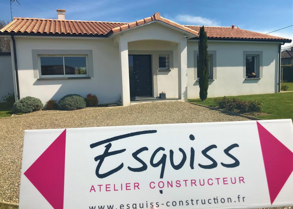 Maisons du constructeur ESQUISS BEAUZELLE • 110 m² • AUSSONNE