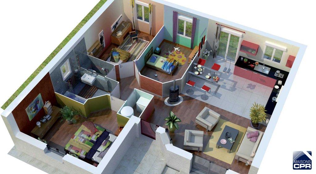 Maisons du constructeur MAISONS CPR • 90 m² • DORDIVES