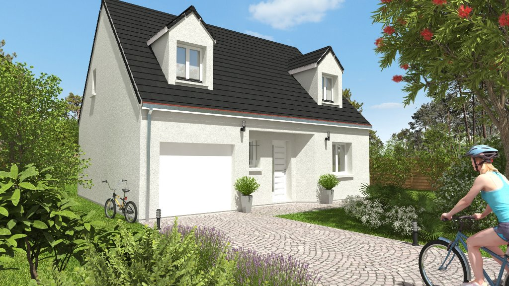 Maisons du constructeur MAISONS CPR • 91 m² • JARGEAU