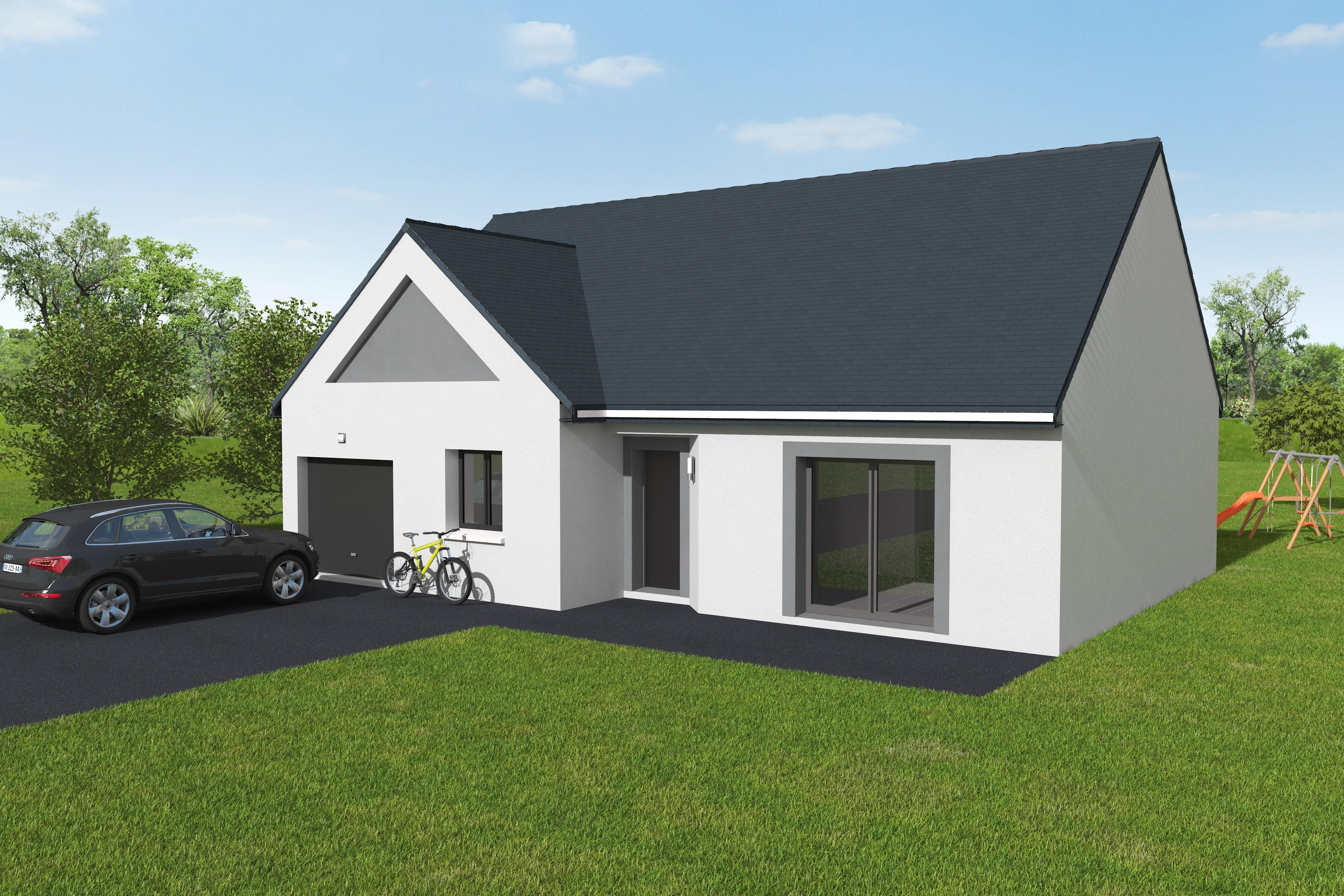 Maisons du constructeur LES MAISONS KERBEA • 87 m² • VER SUR MER