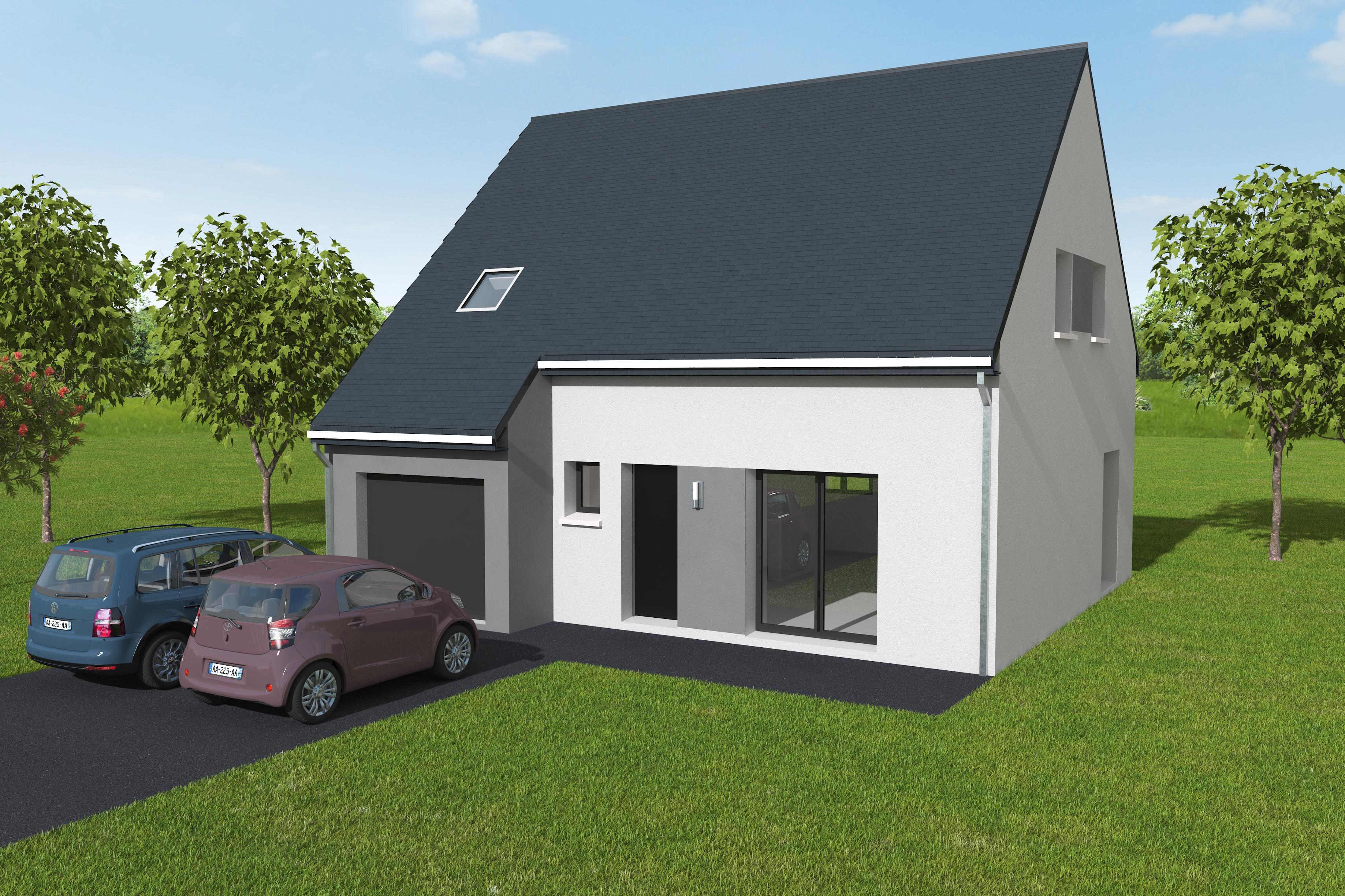 Maisons du constructeur LES MAISONS KERBEA • 103 m² • BOULON