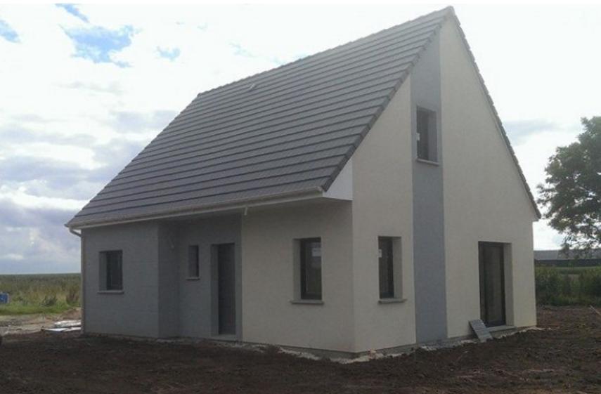 Maisons + Terrains du constructeur LES MAISONS KERBEA • 101 m² • BELLENGREVILLE
