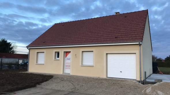 Maisons + Terrains du constructeur LES MAISONS KERBEA • 80 m² • LISIEUX
