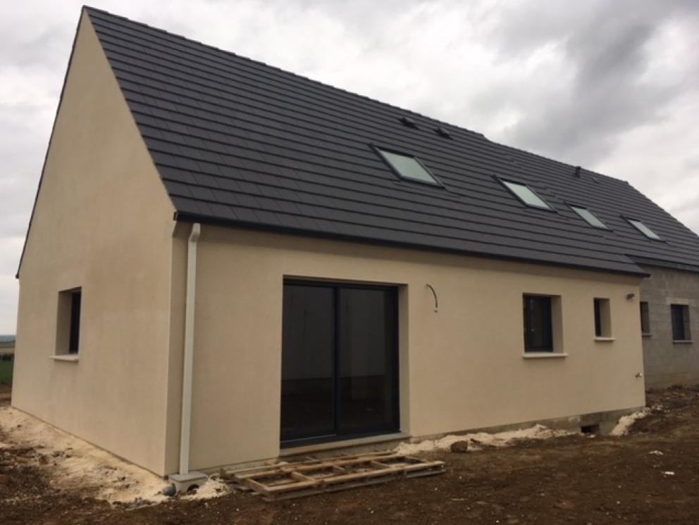 Maisons + Terrains du constructeur LES MAISONS KERBEA • 90 m² • AMAYE SUR ORNE