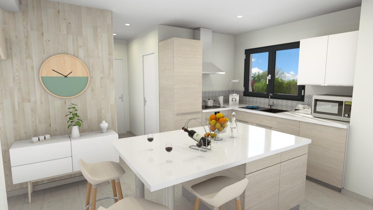 Maisons + Terrains du constructeur MAISONS LOGELIS • 96 m² • ETAMPES