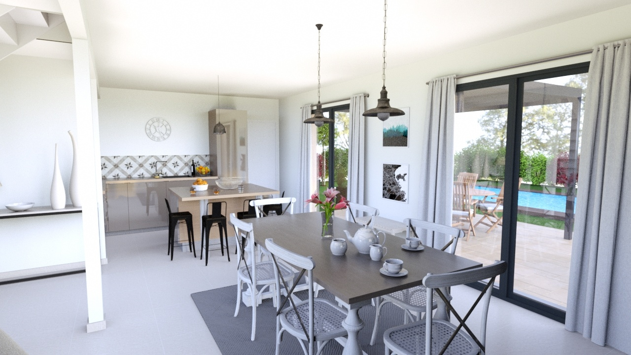 Maisons + Terrains du constructeur MAISONS LOGELIS • 119 m² • SAINTE GENEVIEVE DES BOIS
