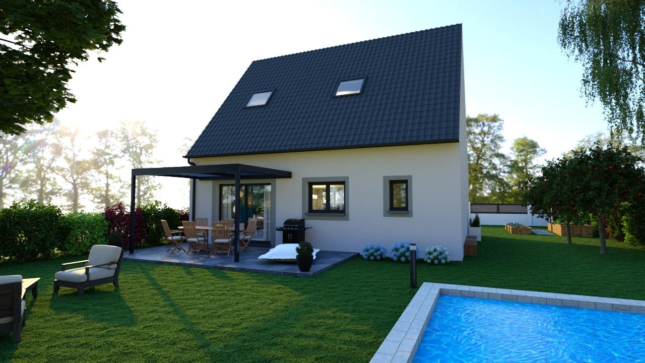 Maisons + Terrains du constructeur MAISONS LOGELIS • 96 m² • BOISSISE LE ROI