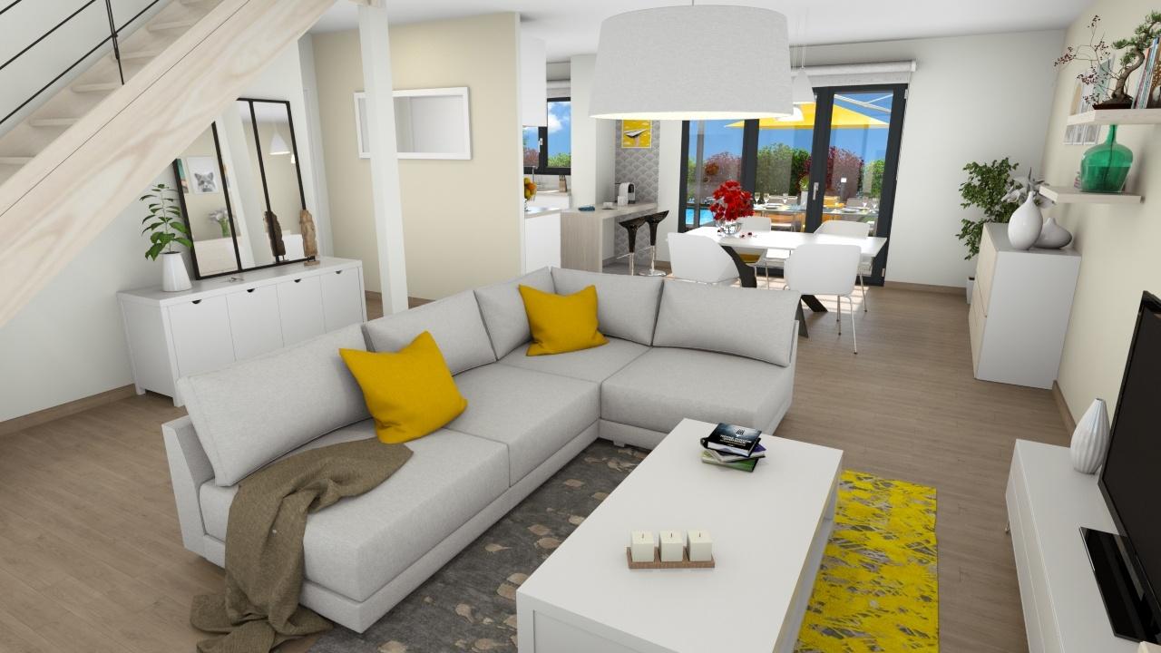 Maisons + Terrains du constructeur MAISONS LOGELIS • 108 m² • ETRECHY
