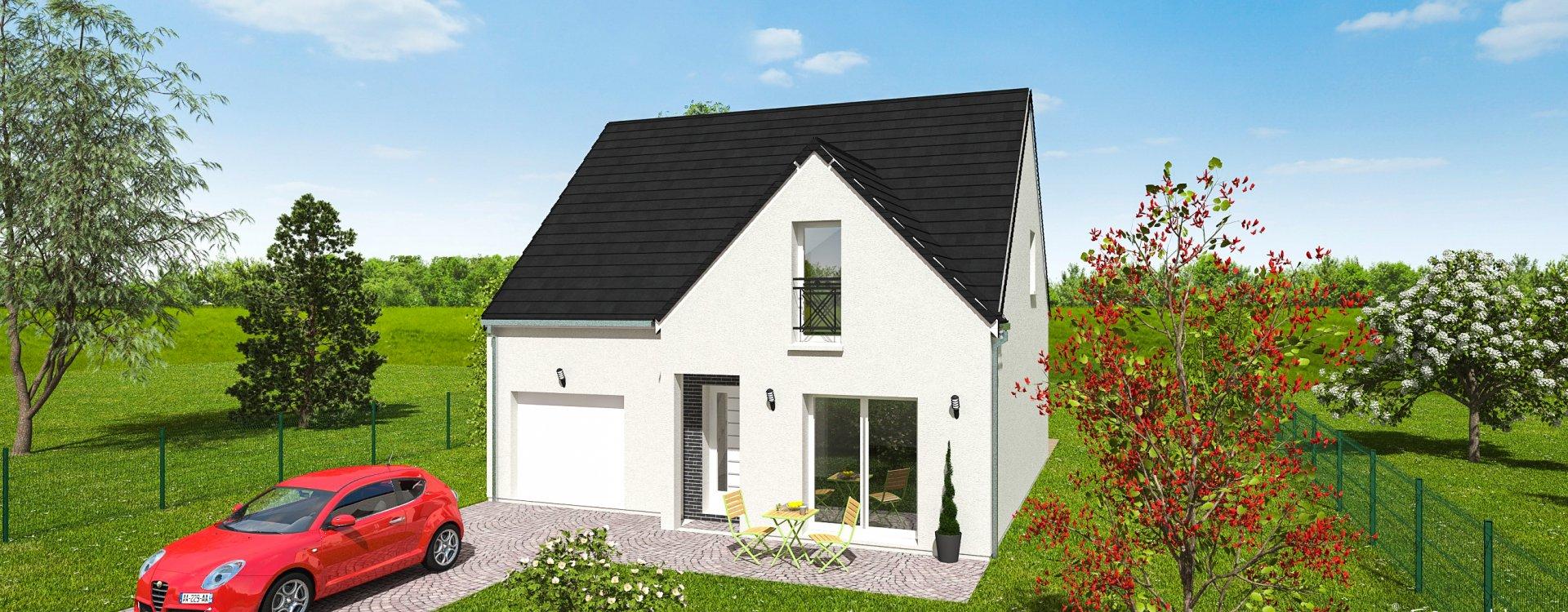 Maisons + Terrains du constructeur EASY HOUSE • 97 m² • LA FERTE SAINT AUBIN