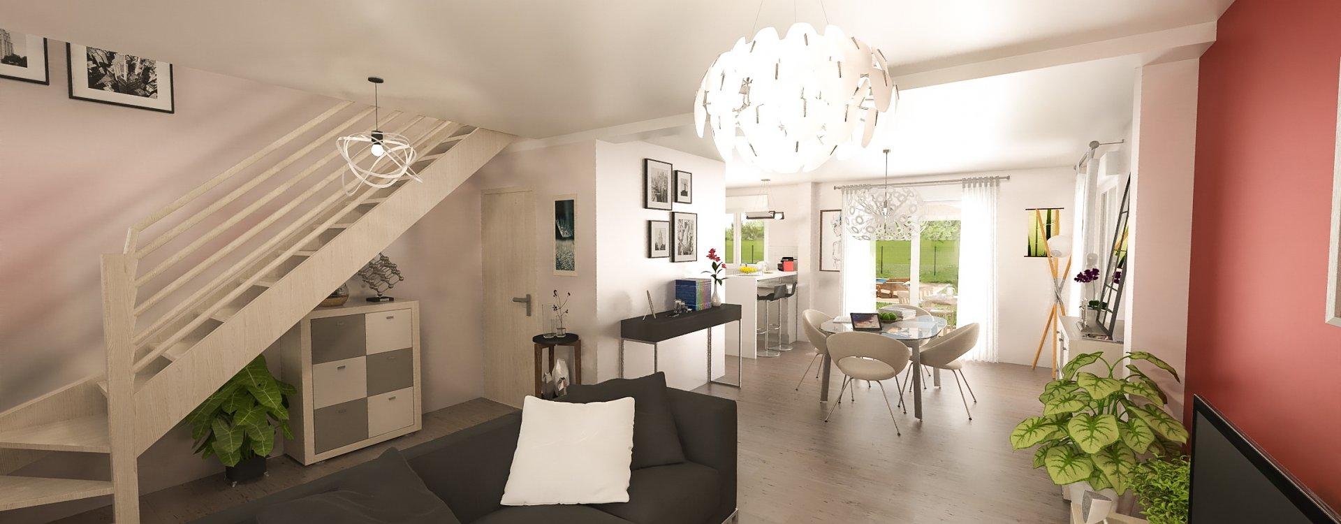 Maisons + Terrains du constructeur EASY HOUSE • 114 m² • CHECY