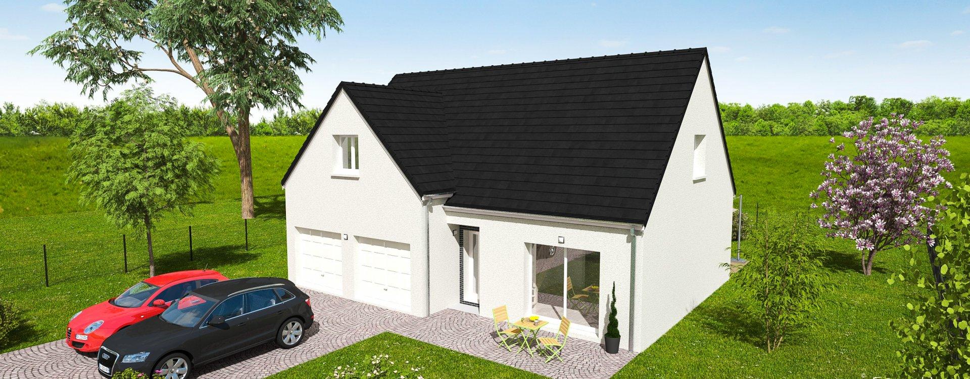 Maisons + Terrains du constructeur EASY HOUSE • 122 m² • CHAINGY