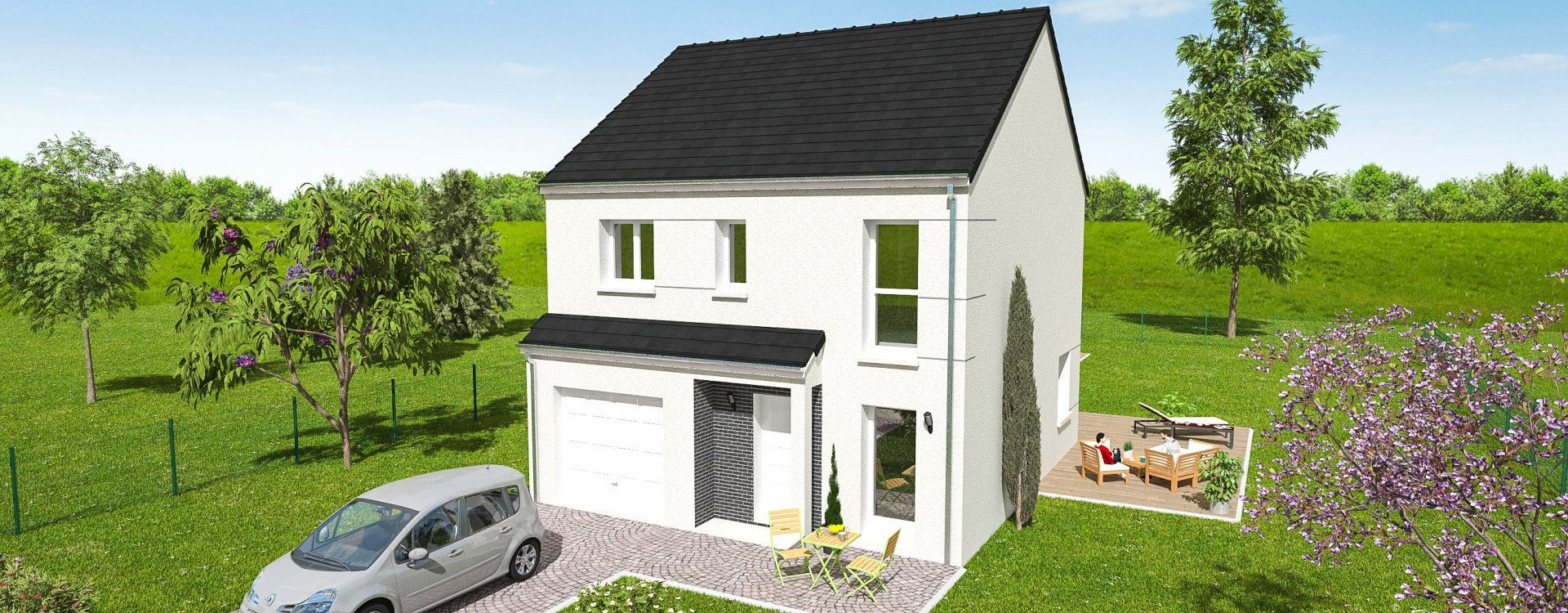 Maisons + Terrains du constructeur EASY HOUSE • 98 m² • CHAINGY