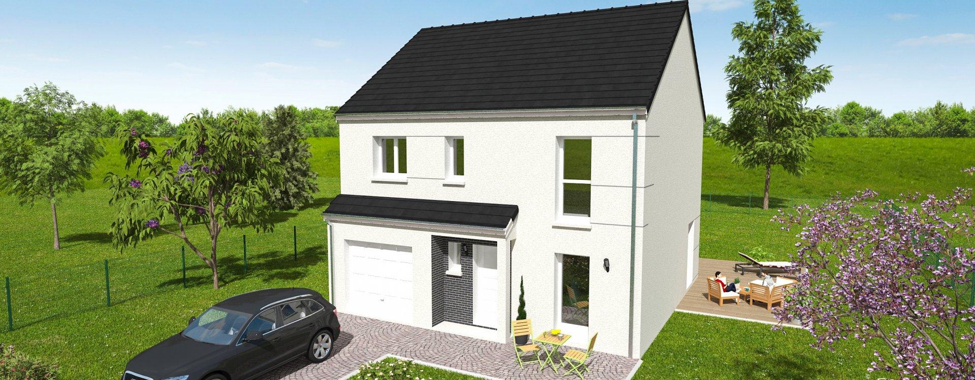Maisons + Terrains du constructeur EASY HOUSE • 114 m² • DONNERY