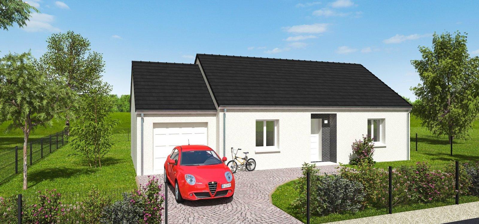 Maisons + Terrains du constructeur EASY HOUSE • 73 m² • CHAINGY