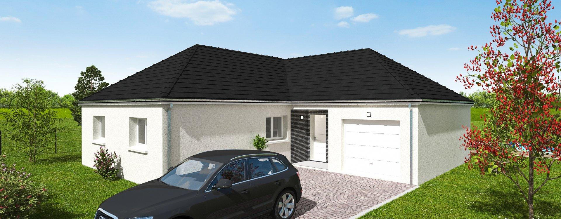 Maisons + Terrains du constructeur EASY HOUSE • 105 m² • SEMOY