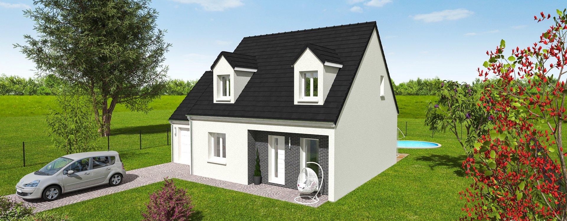 Maisons + Terrains du constructeur EASY HOUSE • 91 m² • CHATEAUNEUF SUR LOIRE