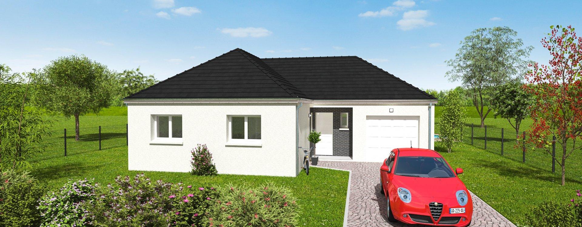 Maisons + Terrains du constructeur EASY HOUSE • 77 m² • SAINT BENOIT SUR LOIRE