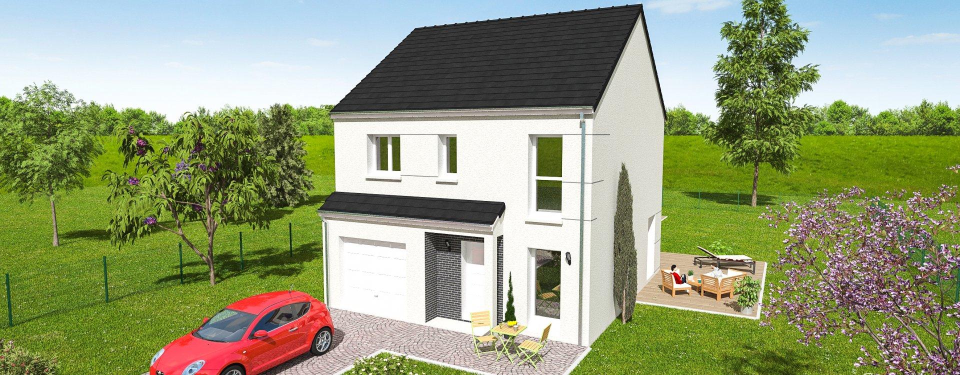 Maisons + Terrains du constructeur EASY HOUSE • 98 m² • LIGNY LE RIBAULT