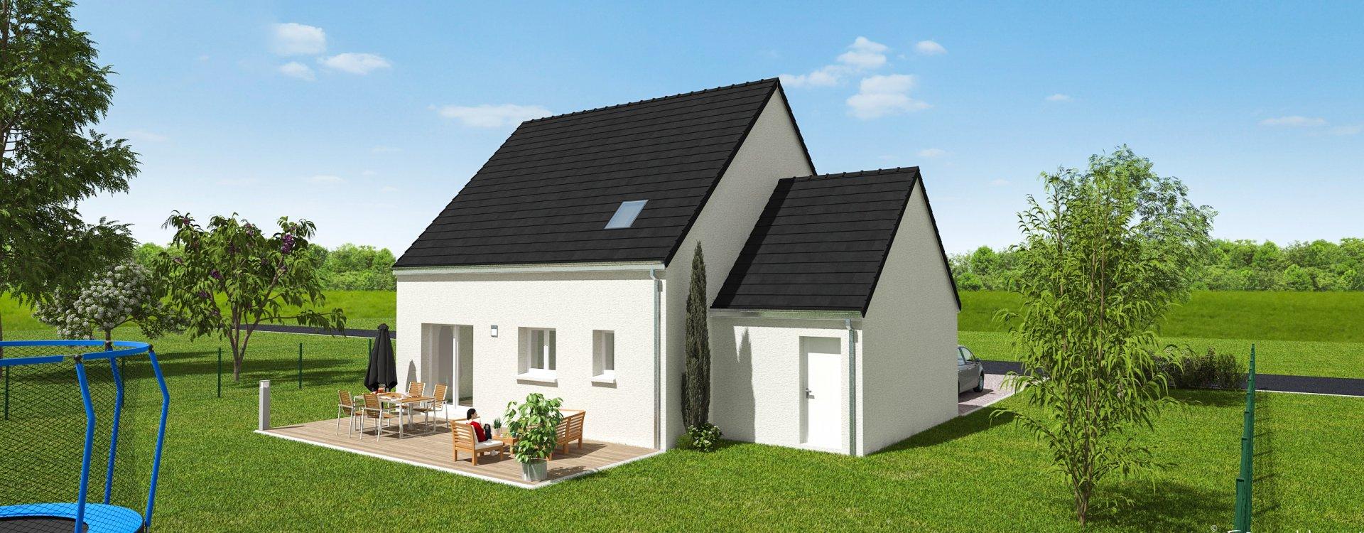 Maisons + Terrains du constructeur EASY HOUSE • 110 m² • SAINT BENOIT SUR LOIRE
