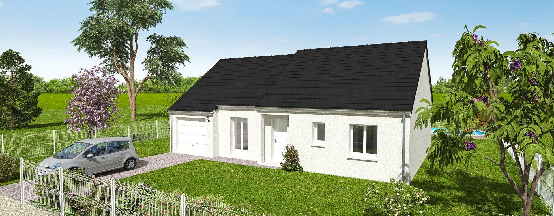 Maisons + Terrains du constructeur EASY HOUSE • 89 m² • NEUVY EN SULLIAS