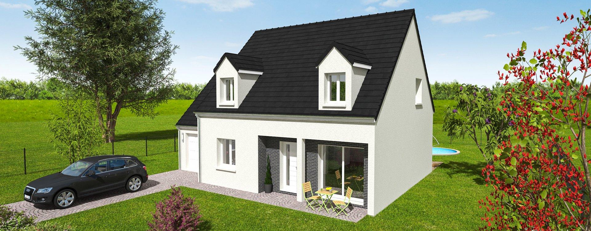 Maisons + Terrains du constructeur EASY HOUSE • 112 m² • NEUVY EN SULLIAS