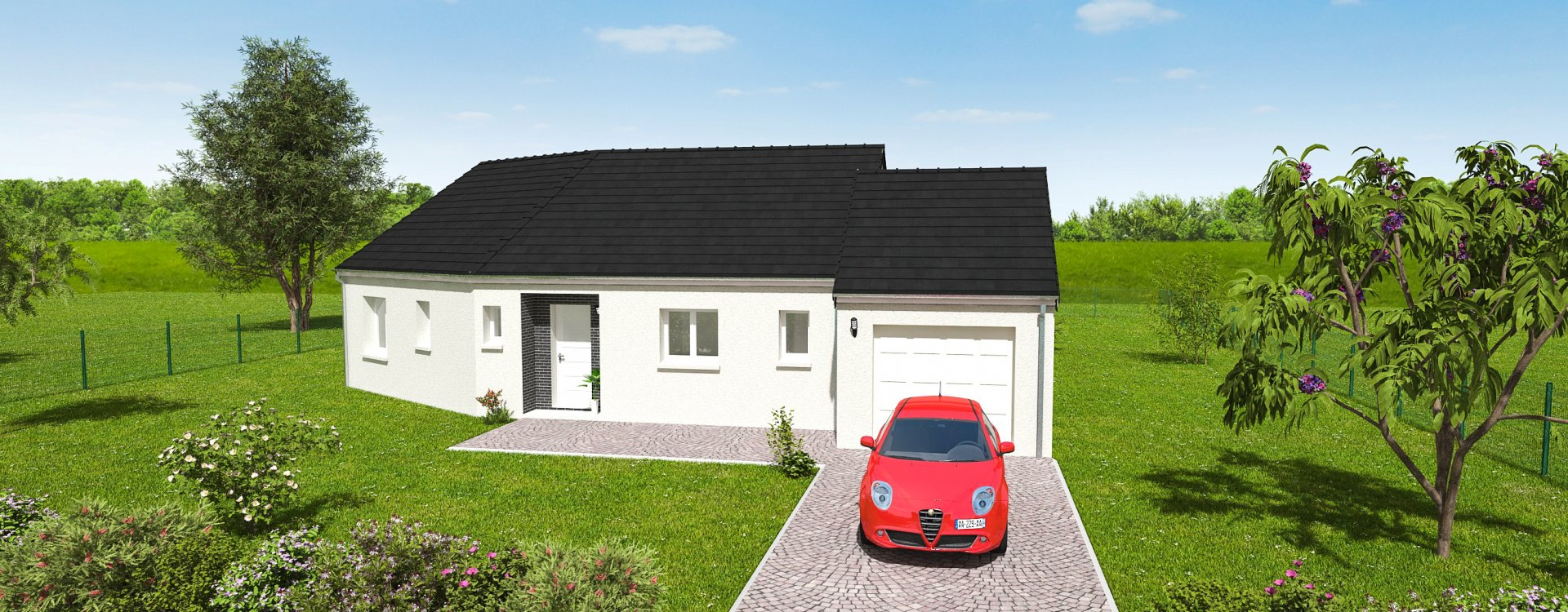 Maisons + Terrains du constructeur EASY HOUSE • 79 m² • VENNECY