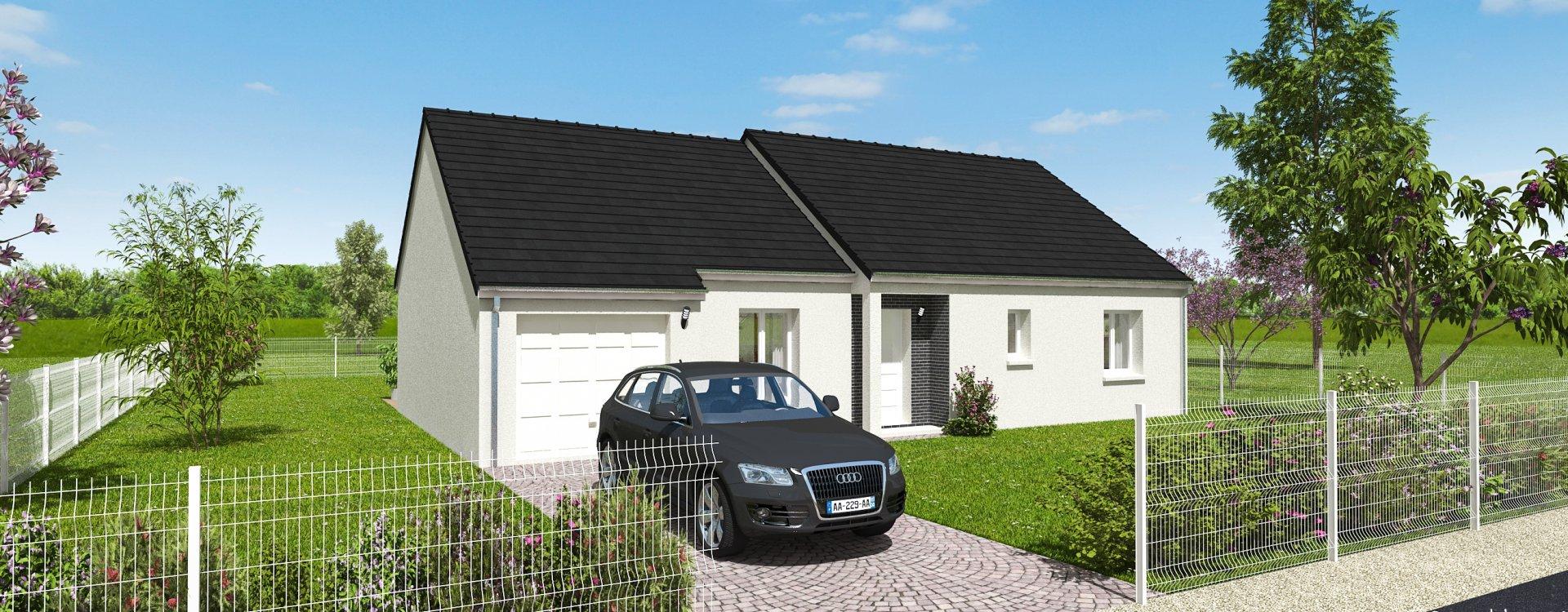 Maisons + Terrains du constructeur EASY HOUSE • 101 m² • VENNECY