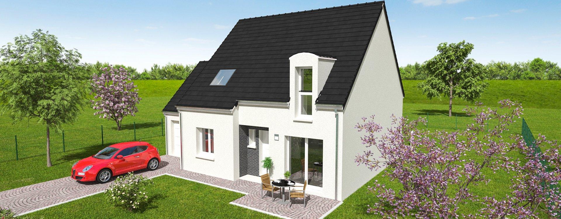 Maisons + Terrains du constructeur EASY HOUSE • 110 m² • ASCHERES LE MARCHE