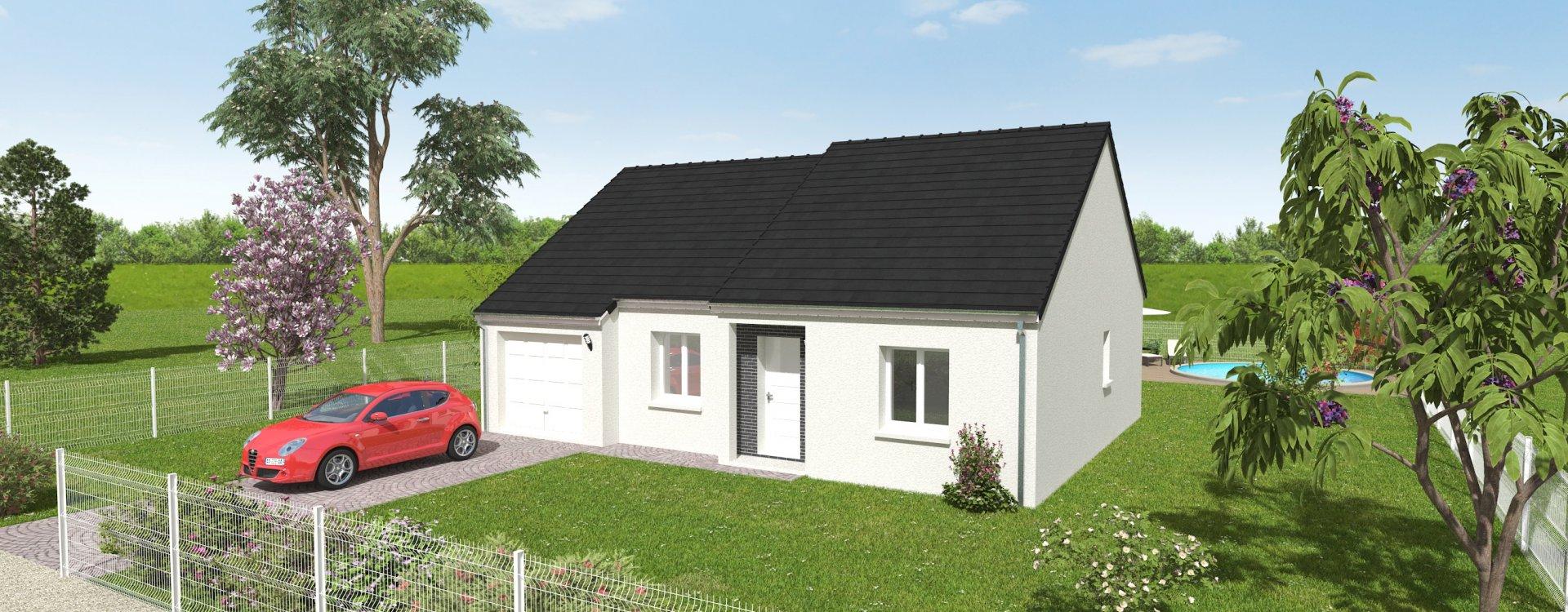 Maisons + Terrains du constructeur EASY HOUSE • 76 m² • CHECY