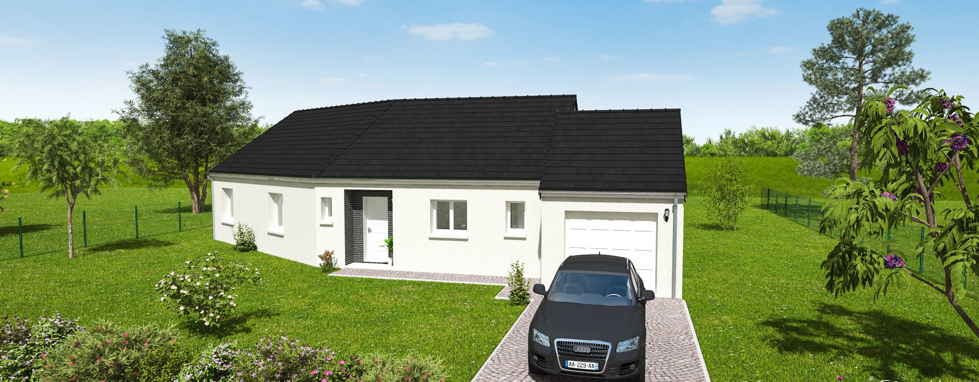 Maisons + Terrains du constructeur EASY HOUSE • 99 m² • NEUVILLE AUX BOIS