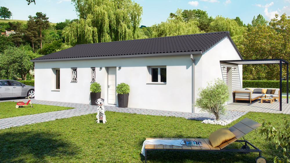 Maisons + Terrains du constructeur ALPHA CONSTRUCTIONS • 80 m² • GAILLAN EN MEDOC