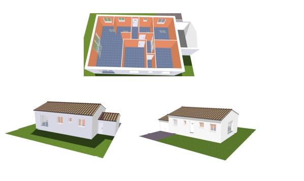Maisons + Terrains du constructeur MA VILLA 34 - IMMO BAT • 80 m² • THEZAN LES BEZIERS