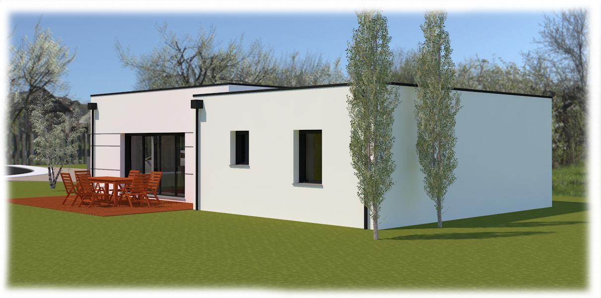 Maisons + Terrains du constructeur MA VILLA 34 - IMMO BAT • 95 m² • MONTAGNAC