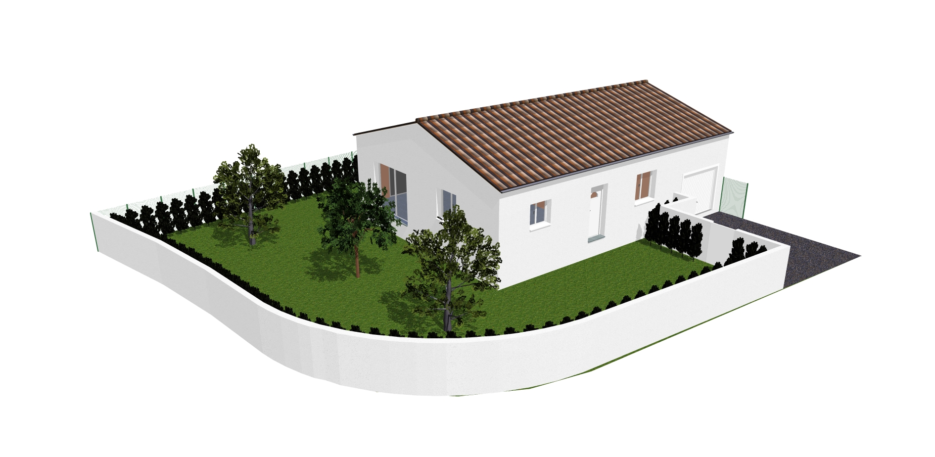Maisons + Terrains du constructeur MA VILLA 34 - IMMO BAT • 80 m² • BOUJAN SUR LIBRON
