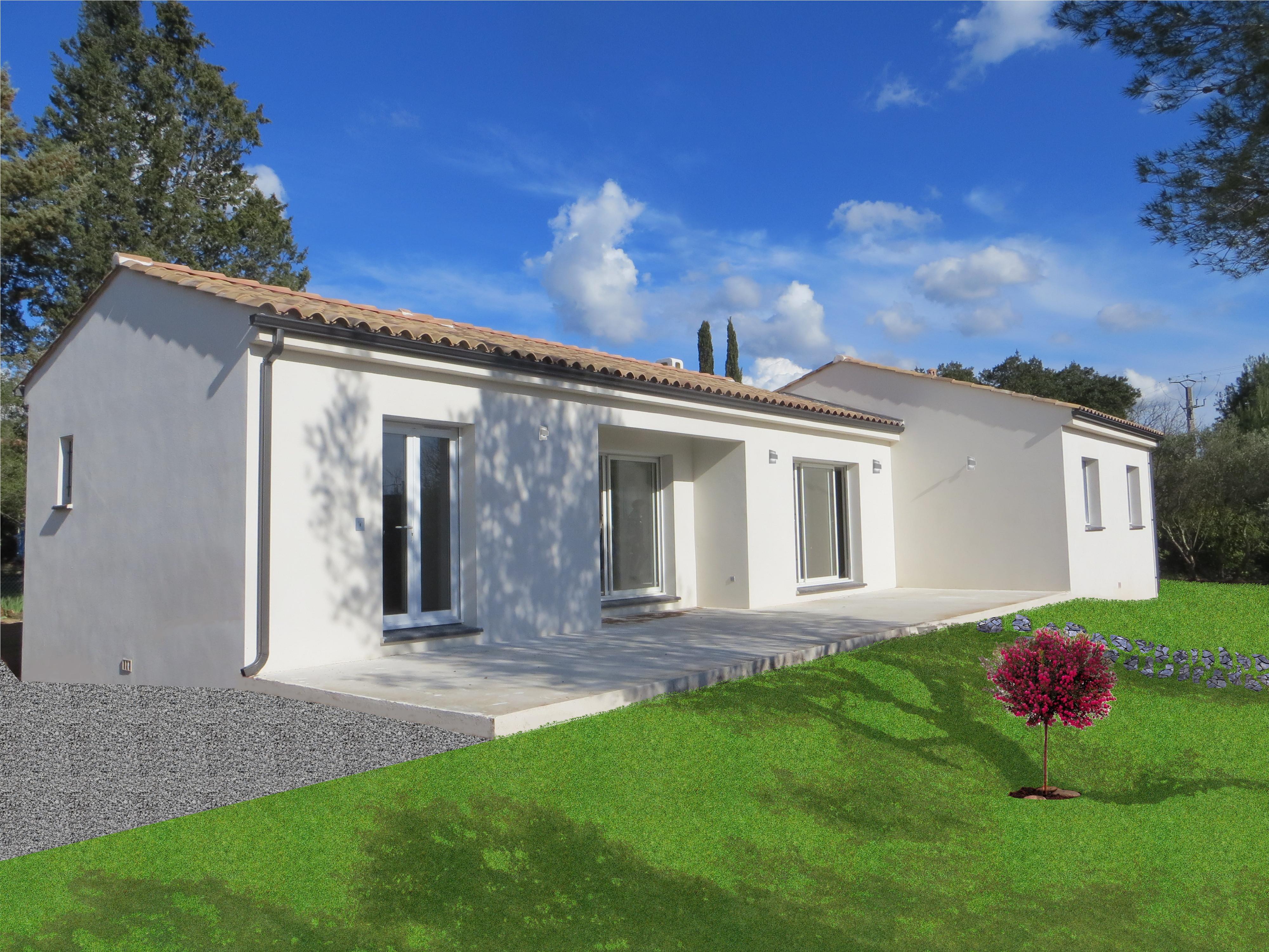 Maisons + Terrains du constructeur MAISONS MADDALENA • 100 m² • CLARENSAC