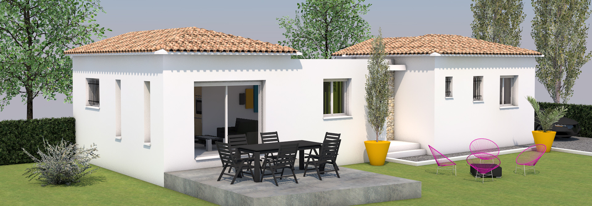 Maisons + Terrains du constructeur MAISONS MADDALENA • 82 m² • MARGUERITTES