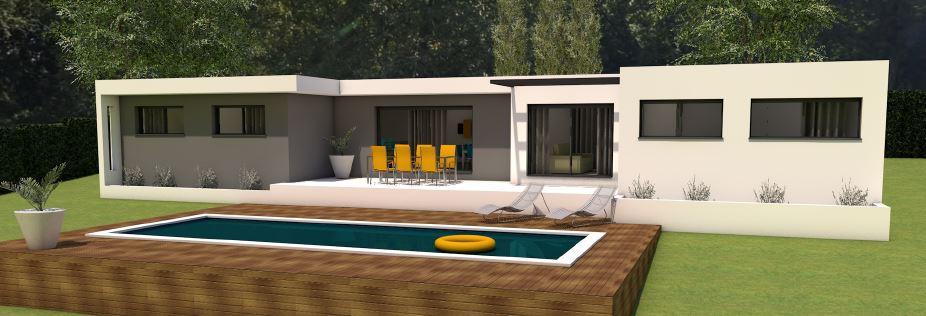 Maisons + Terrains du constructeur MAISONS MADDALENA • 123 m² • NIMES
