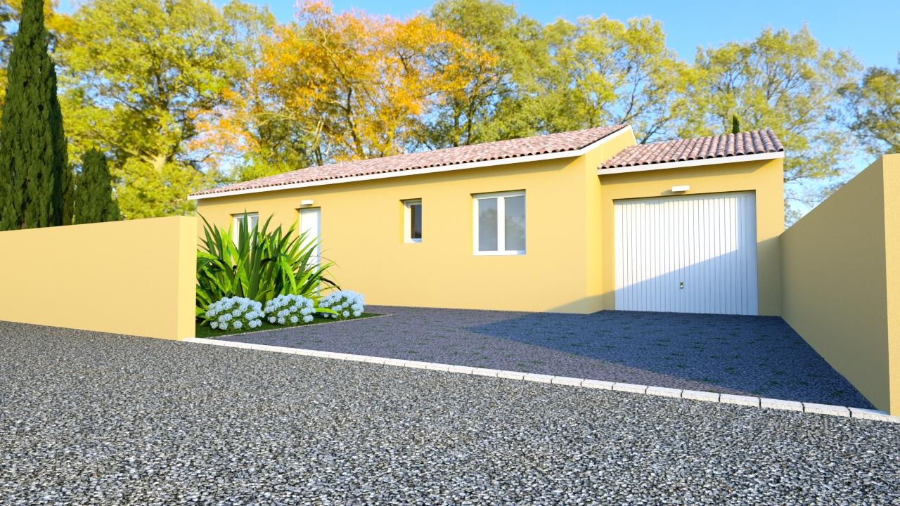 Maisons du constructeur CEL • 85 m² • PLAISSAN