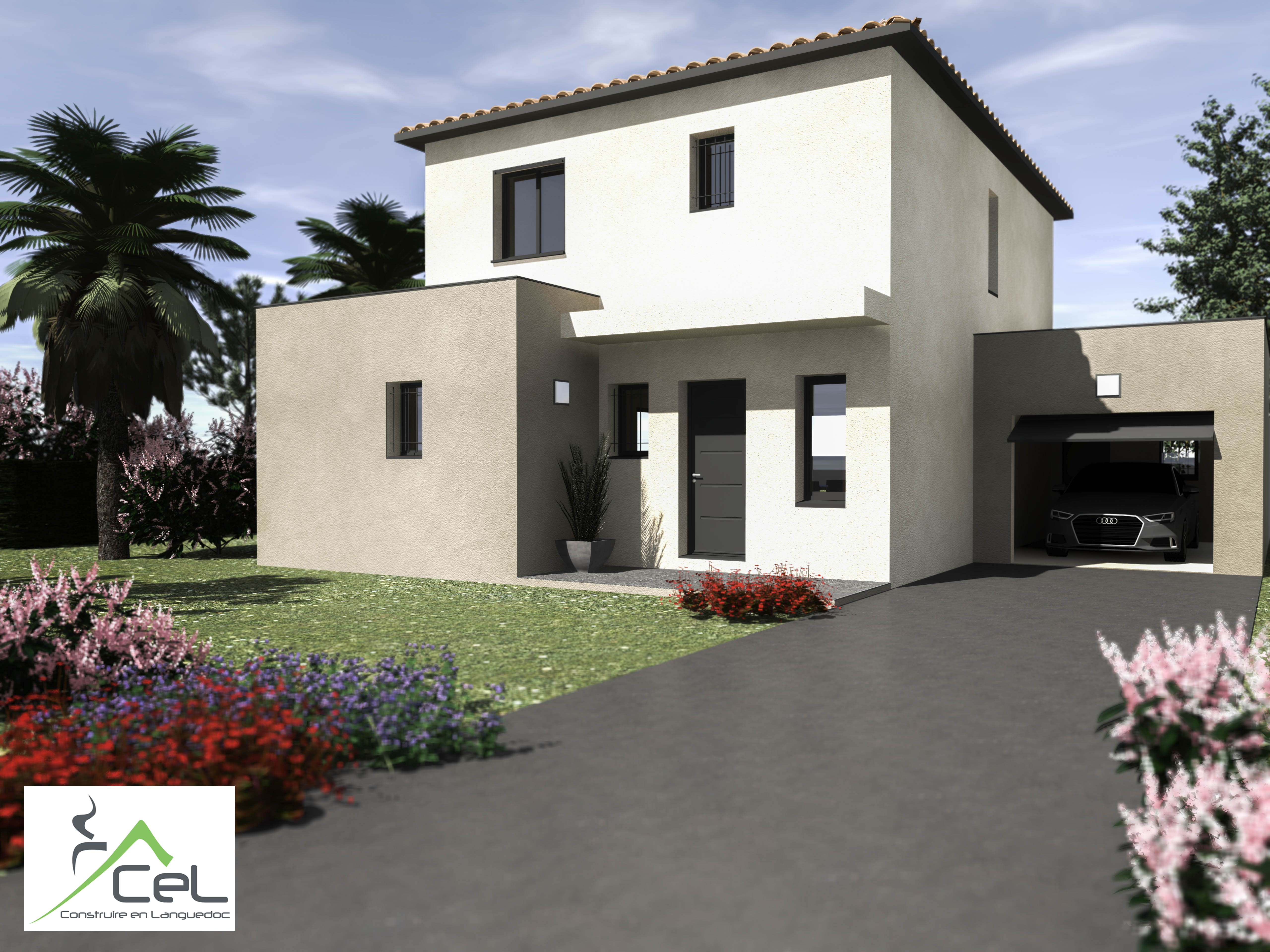 Maisons + Terrains du constructeur CEL • 110 m² • MONTARNAUD