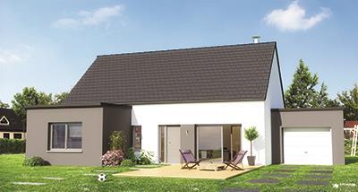 Maisons + Terrains du constructeur MAISON FAMILIALE COIGNIERES • 90 m² • VILLIERS SAINT FREDERIC