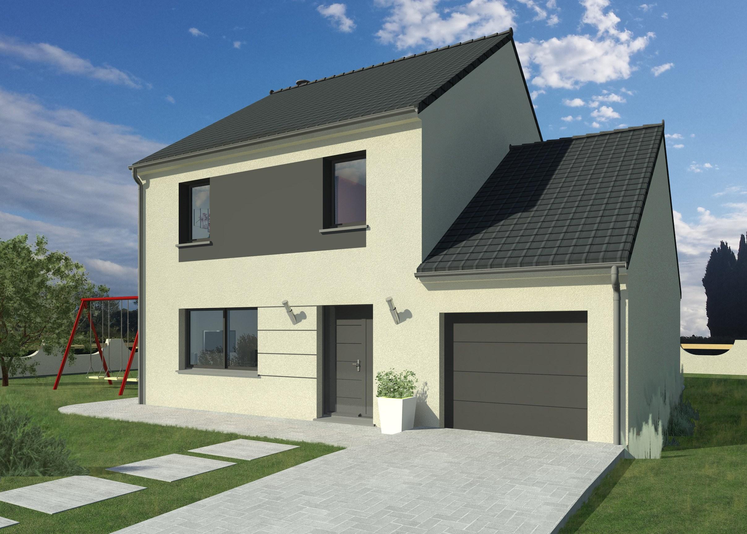 Maisons + Terrains du constructeur MAISON FAMILIALE COIGNIERES • 118 m² • BOIS D'ARCY