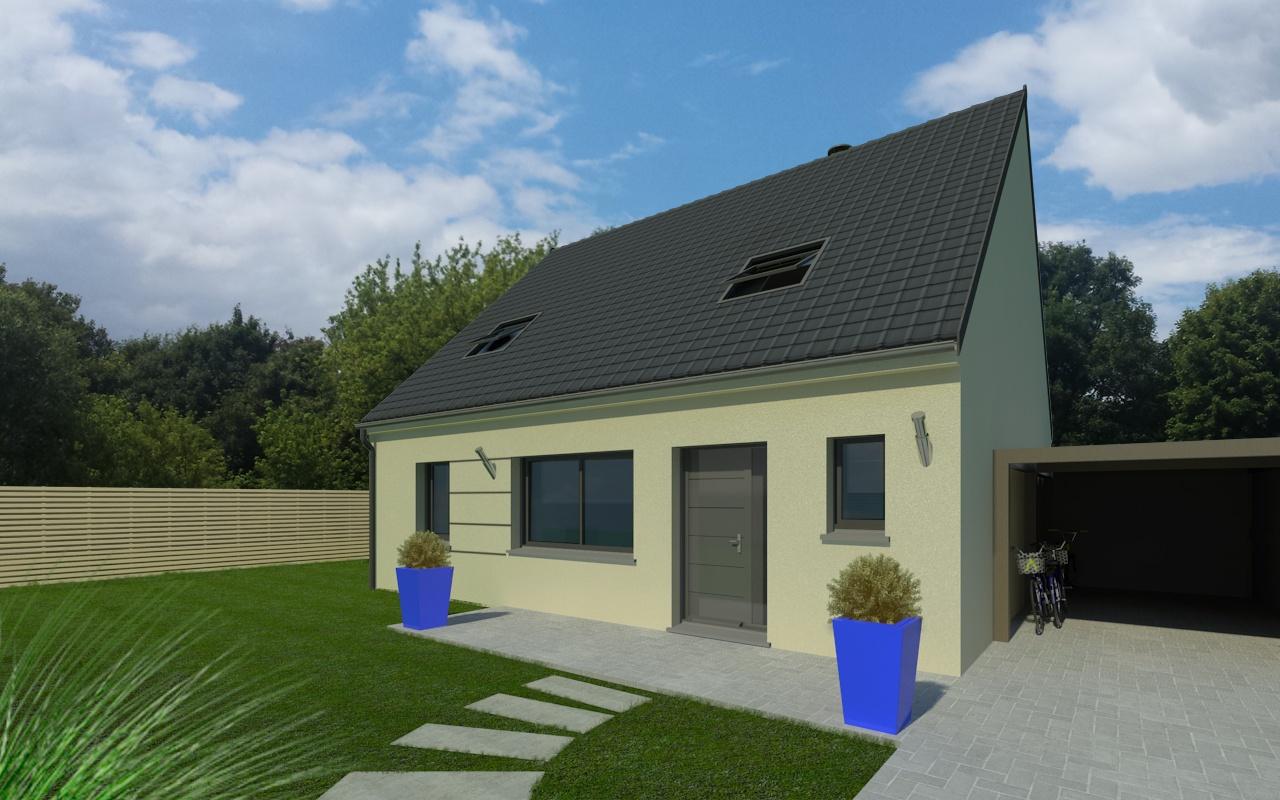 Maisons + Terrains du constructeur MAISON FAMILIALE COIGNIERES • 125 m² • BOIS D'ARCY
