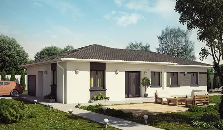 Maisons + Terrains du constructeur DEMEURES CALADOISES • 100 m² • MONTAGNIEU