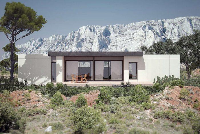 Maisons du constructeur KIRIGAMI CONSTRUCTION • 124 m² • SAINT JORY