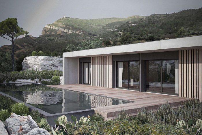 Maisons du constructeur KIRIGAMI CONSTRUCTION • 92 m² • MIREMONT