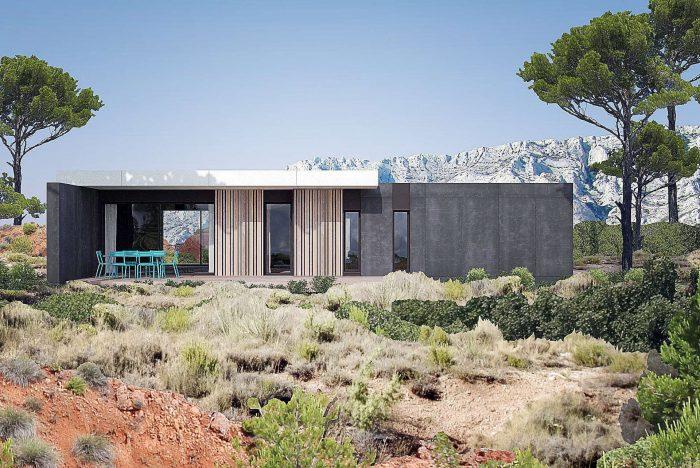 Maisons du constructeur KIRIGAMI CONSTRUCTION • 162 m² • AUREVILLE
