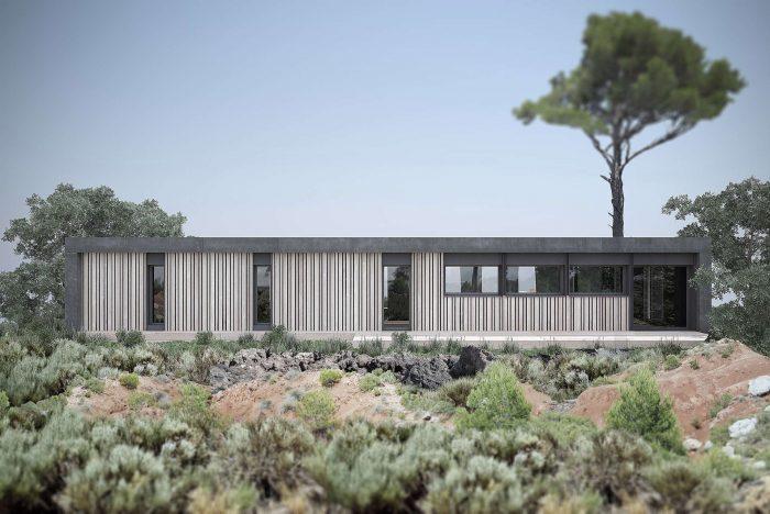 Maisons du constructeur KIRIGAMI CONSTRUCTION • 158 m² • LACROIX FALGARDE