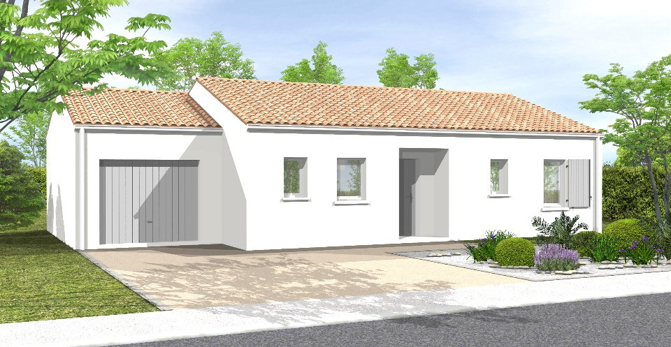 Maisons du constructeur LMP CONSTRUCTEUR • 70 m² • SAINT ANDRE GOULE D'OIE