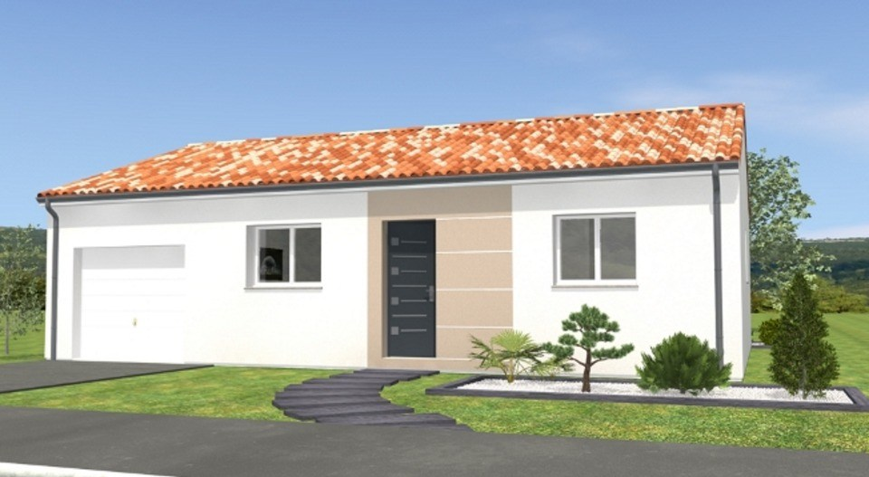 Maisons du constructeur LMP CONSTRUCTEUR • 70 m² • SAINT PAUL EN PAREDS
